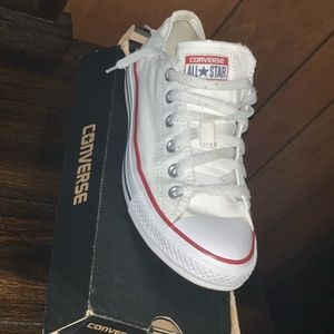 White Allstar Converse